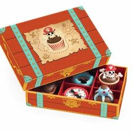 Djeco Djeco 6524 Rollenspel - Piraten cakejes