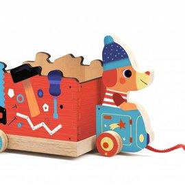 Djeco Djeco 6257 Trekauto - Gereedschapskist