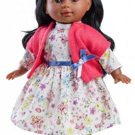 Paola Reina Paola Reina Poppenkleding Blanditas Esther roze vest (36 cm)