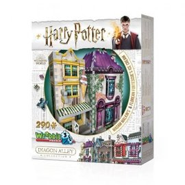 Wrebbit Wrebbit 3D puzzle Harry Potter Madam Malkin & Florean Fortescue Icecream 290 stukjes