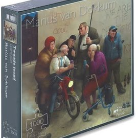 Overige puzzels Marius van Dokkum puzzel - Tweede jeugd (1000 stukjes)