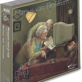 Marius van Dokkum puzzel - Meegaan met je Tijd (1000 stukjes)