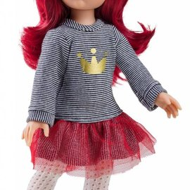 Paola Reina Paola Reina Pop Amigas Dasha rood haar (32 cm)