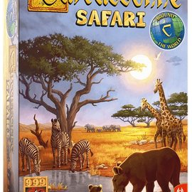 999 Games 999 Games Carcassonne Safari (Stand alone)