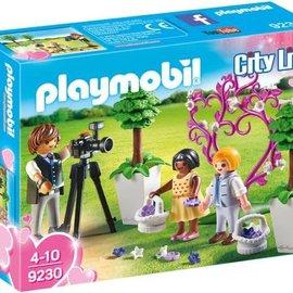 Playmobil Playmobil - Fotograaf met bruidskinderen (9230)