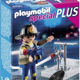 Playmobil Playmobil - Brandweerman met brandkraan (4795)