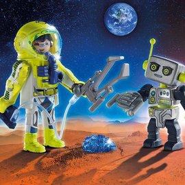 Playmobil Playmobil - Astronaut en Robot  (9492)