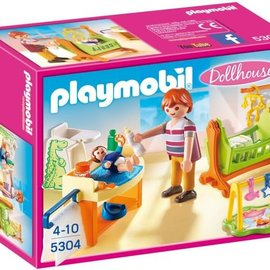 Playmobil Playmobil - Babykamer met wieg (5304)
