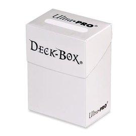 Deckbox wit kaartenhouder
