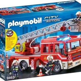 Playmobil Playmobil - Brandweer ladderwagen (9463)