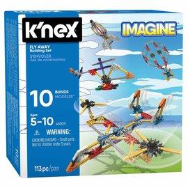 Knex K'Nex Bouwset vliegtuigen (113 delig)