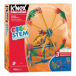 Knex K'Nex Tandwielen bouw set (143 delig)
