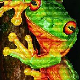 Diamont Dotz Diamond Dotz - Green tree Frog