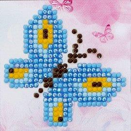 Diamont Dotz Diamond Dotz - Butterfly Sparkle  7 x 7 cm