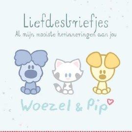 Boek Woezel & Pip - Liefdesbriefjes
