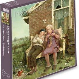 Marius van Dokkum puzzel - Liefde vergaat niet (1000 stukjes)