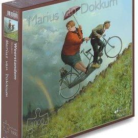 Art Puzzel Marius van Dokkum puzzel - Weerstandem (1000 stukjes)