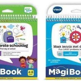 Vtech Vtech Magibook Duo verpakking - Maak kennis met de wetenschap & De eerste schooldag