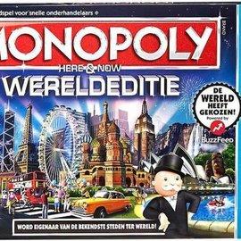Hasbro Hasbro Monopoly Wereldeditie