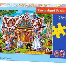 Castorland Castorland Hans en Grietje (60 stukjes)