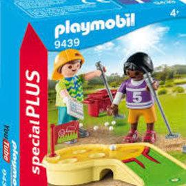 Playmobil Playmobil - Kinderen met Minigolf (9439)