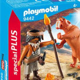 Playmobil Playmobil - Neanderthaler met Sabeltandtijger (9442)