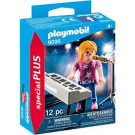 Playmobil Playmobil - Zangeres met Keyboard (9095)