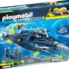 Playmobil Playmobil - Team Shark Drilonderzeeër (70005)