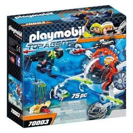 Playmobil Playmobil - Spy team Bemande onderwaterrobot (70003)