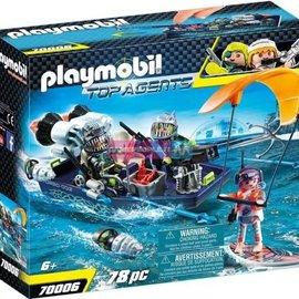 Playmobil Playmobil - Team shark harpoenboot (70006)