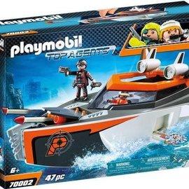 Playmobil Playmobil - Spy team turboschip (70002)