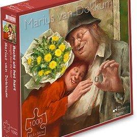 Marius van Dokkum puzzel - Recht uit het hart (1000 stukjes)