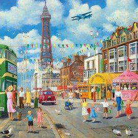 Gibsons Gibsons puzzel Blackpool Promenade (500 stukjes)