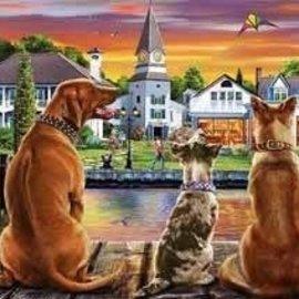 Educa Educa Honden Op De Pier (1000 stukjes)