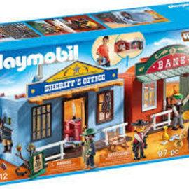 Playmobil Playmobil - Meeneem Western Stad (70012)