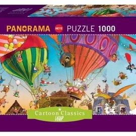Heye Heye Ballooning panorama puzzel (1000 stukjes)