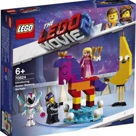 Lego Lego 70824 The Movie 2: Maak kennis met koningin Wiedanook Watdanook