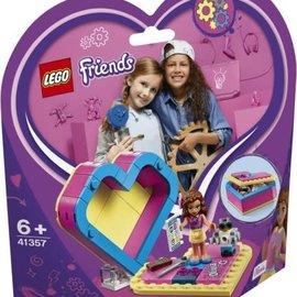 Lego Lego 41357 Olivia's Hartvormige doos