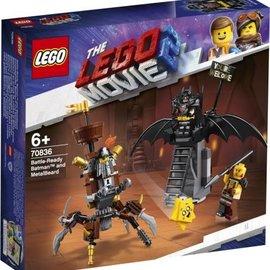 Lego Lego 70836 Gevechtsklare Batman en Metaalbaard
