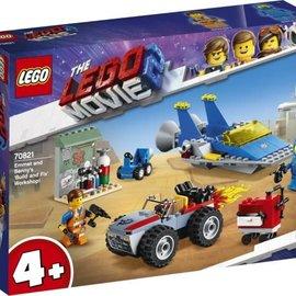 Lego Lego 70821 The Movie 2:  Emmet en Benny's bouw- en reparatiewerkplaats