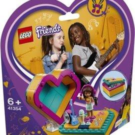 Lego Lego 41354 Andrea`s Hartvormige doos