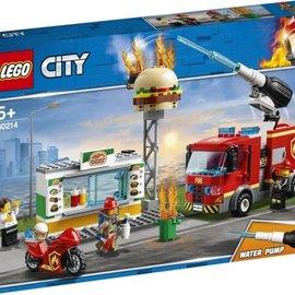 Lego Lego 60214 Brand bij het hamburger restaurant