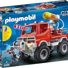Playmobil Playmobil - Brandweer terreinwagen met waterkanon (9466)
