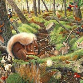 The House of Puzzles The House of Puzzles - Save our squirrels (1000 stukjes)