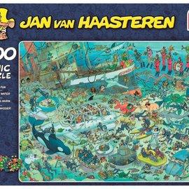 Jumbo Jan van Haasteren - Pret onder water (1000 stukjes)