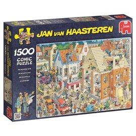 Jumbo Jan van Haasteren - De bouwplaats (1500 stukjes)