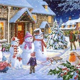 The House of Puzzles The House of Puzzles - Snow Family (1000 stukjes)