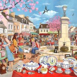 The House of Puzzles The House of Puzzles puzzel - French Market (1000 stukjes)