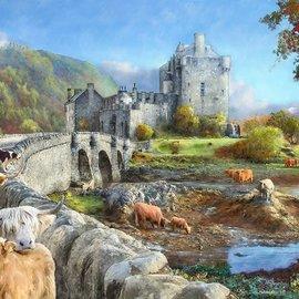 The House of Puzzles The House of Puzzles puzzel - Highland Morning (1000 stukjes)