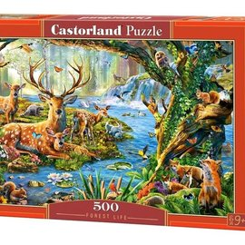 Castorland Castorland Bos leven (500 stukjes)